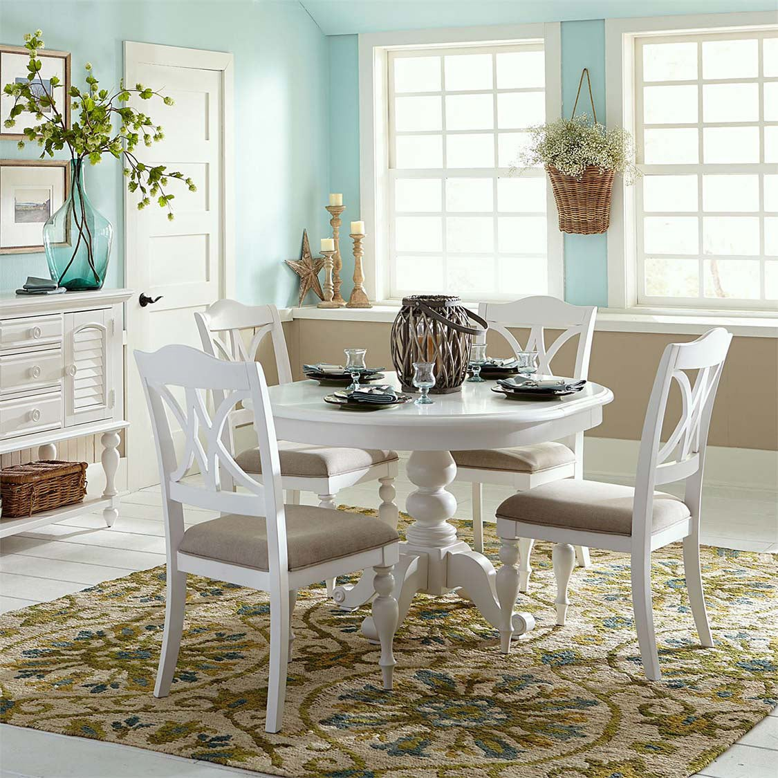 Summer House Oyster House 5 Piece Dining Set | Weekends Only Furniture & Mattress