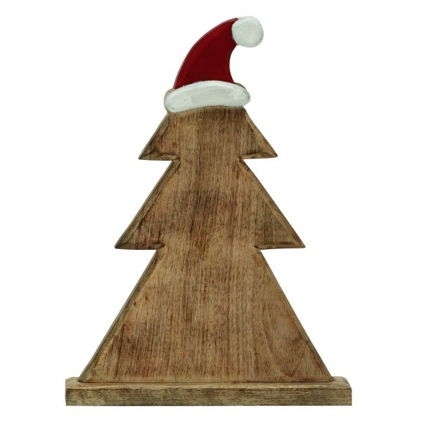 Wood Santa Hat Tree