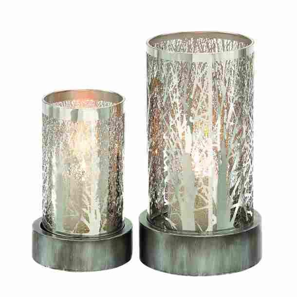 Small and Large Candle Holders
