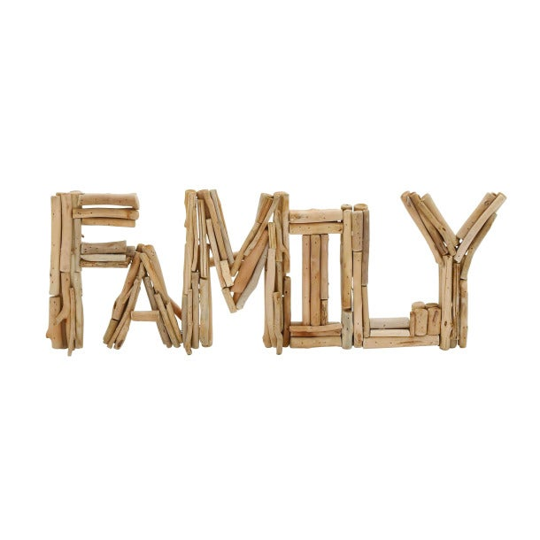 Driftwood Family Sculpture