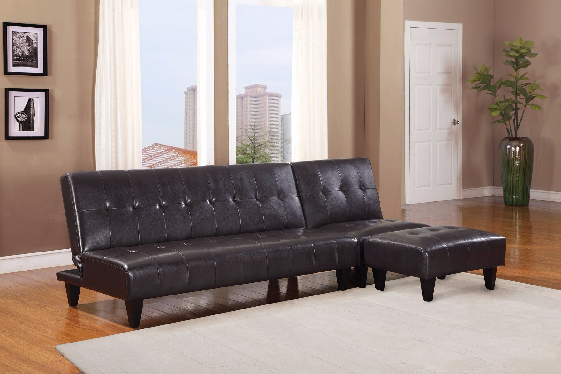 Conrad 3 Piece Sofa, Chair and Ottoman