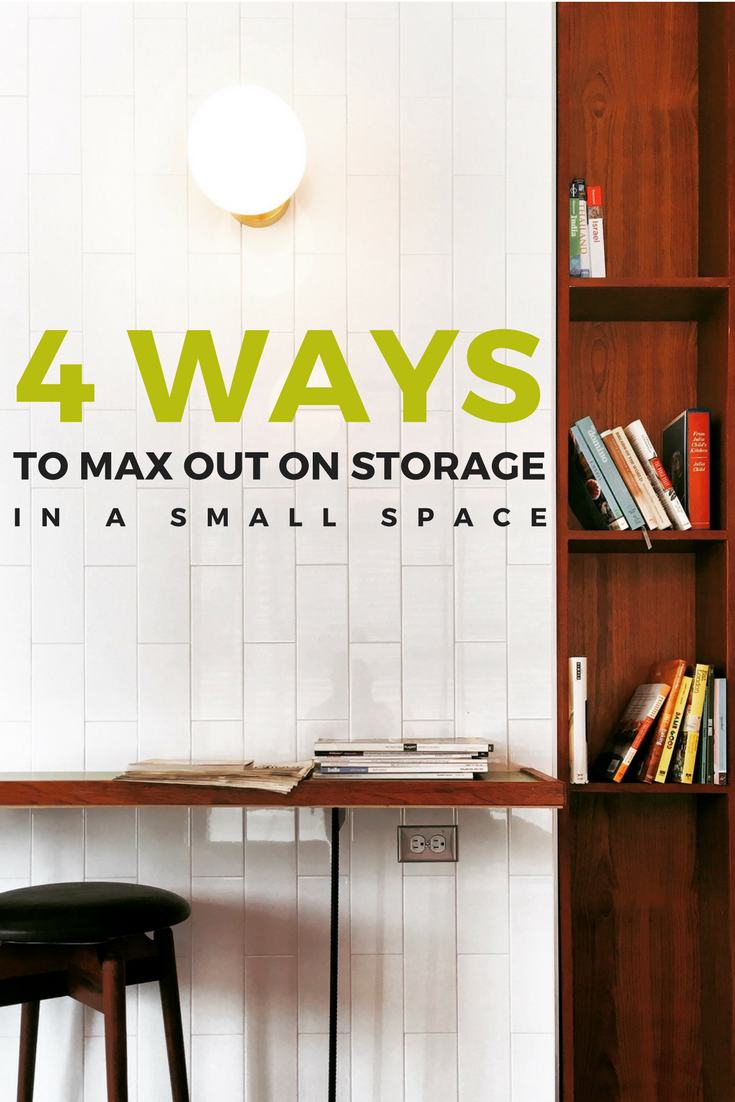 4 Ways to Max Out on Storage in a Small Space | Weekends Only Furniture and Mattress Blog