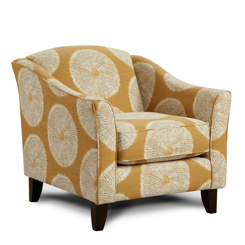 Fusion Harper Yellow Chair