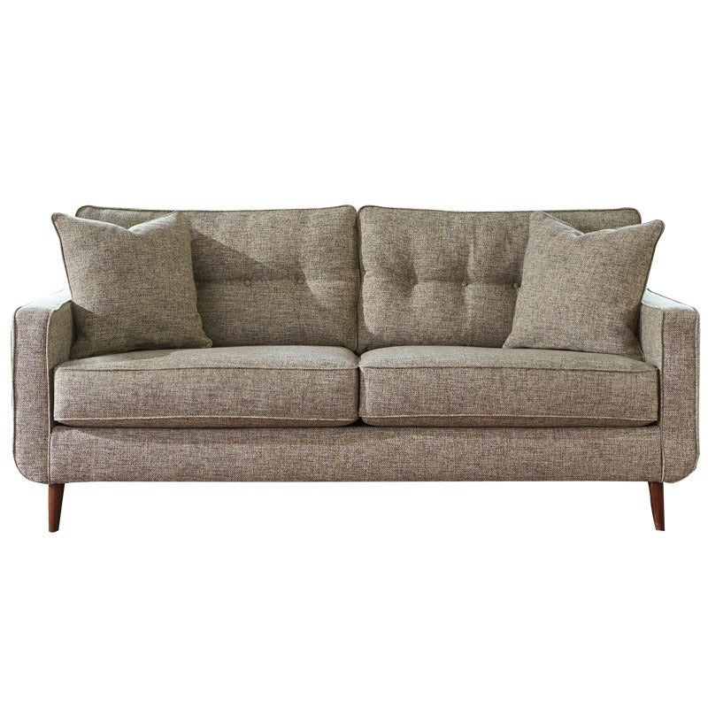 Ashley Chento Jute Mid Century Sofa | Weekends Only Furniture and Mattress