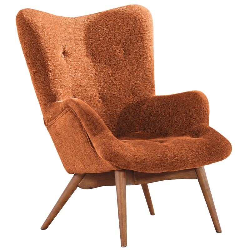 Ashley Pelsor Orange Accent Chair | Weekends Only Furniture and Mattress