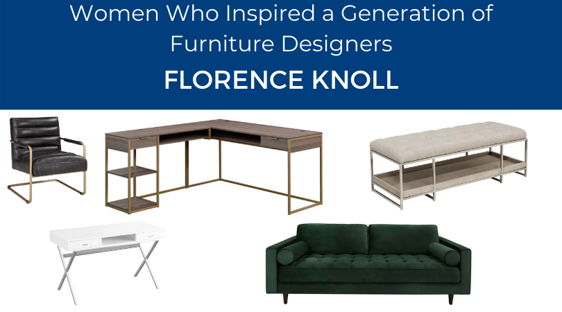 Women Who Inspired a Generation of Furniture Designers | Weekends Only Furniture and Mattress