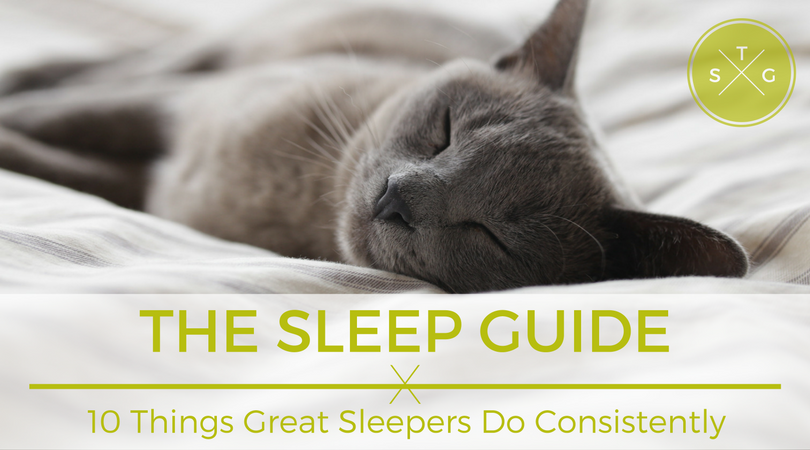 The Sleep Guide: 10 Things Great Sleepers Do Consistently | Weekends Only Furniture and Mattress