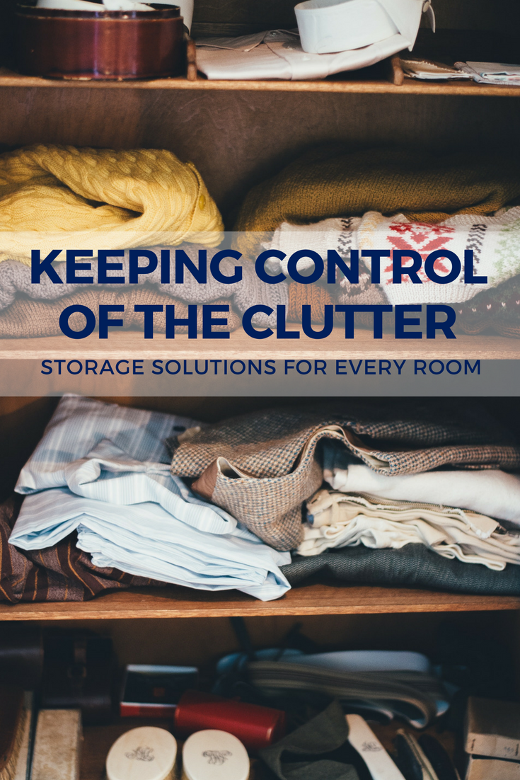 Keeping Control of the Clutter: Storage Solutions for Every Room | Weekends Only Furniture and Mattress