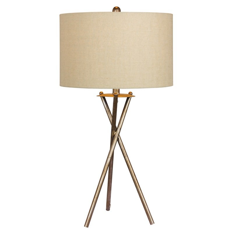 Metal Tripod Table Lamp | Weekends Only Furniture and Mattress