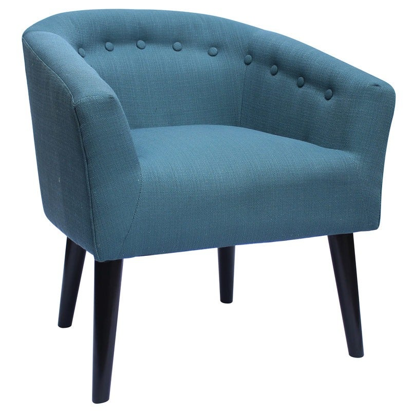 Mid Century Sachi Teal Chair | Weekends Only Furniture and Mattress