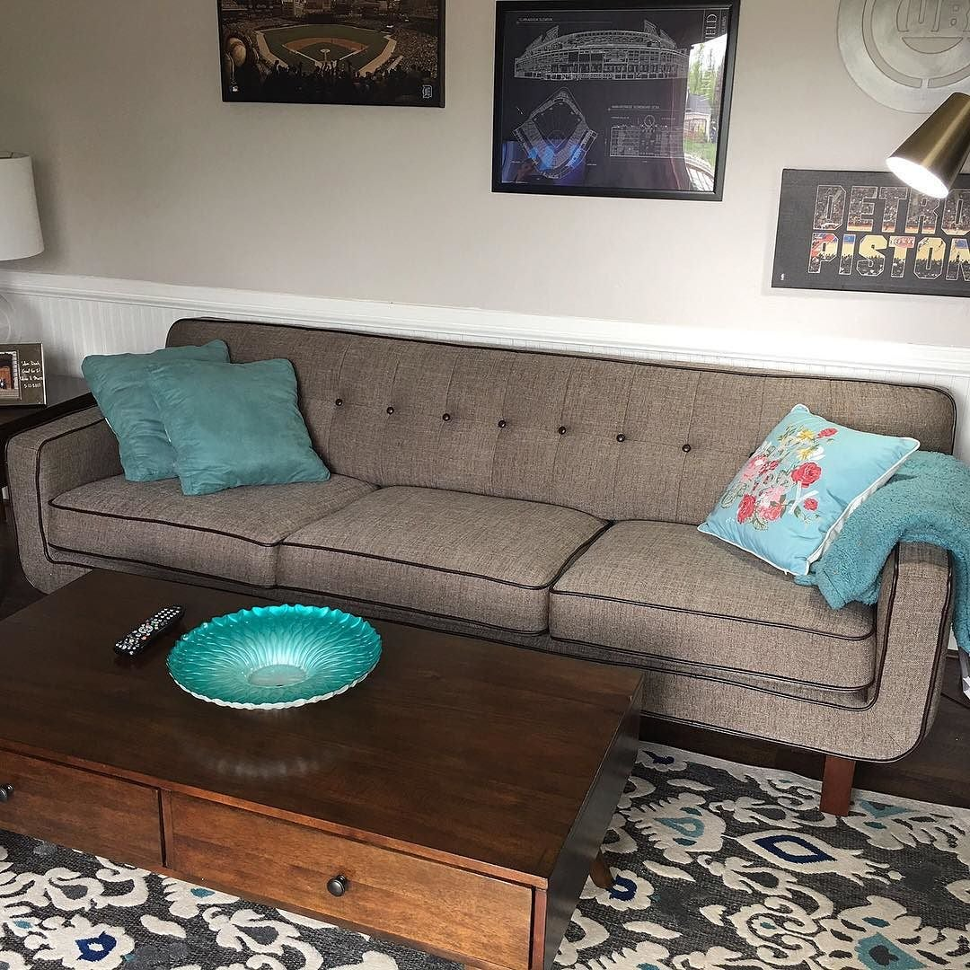 Olivia's Mid-Century Modern Living Room | Weekends Only Furniture and Mattress