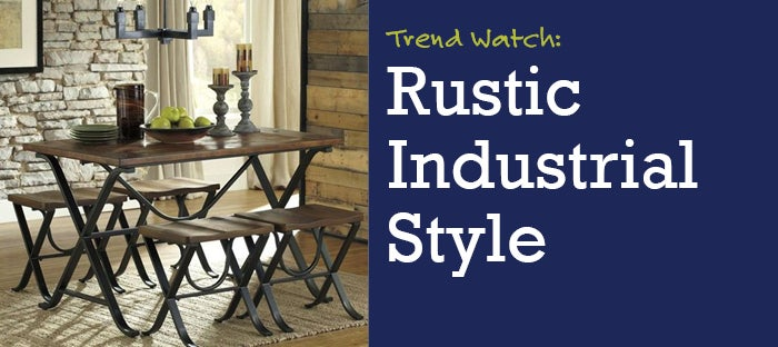Trend Watch: Rustic Industrial Style