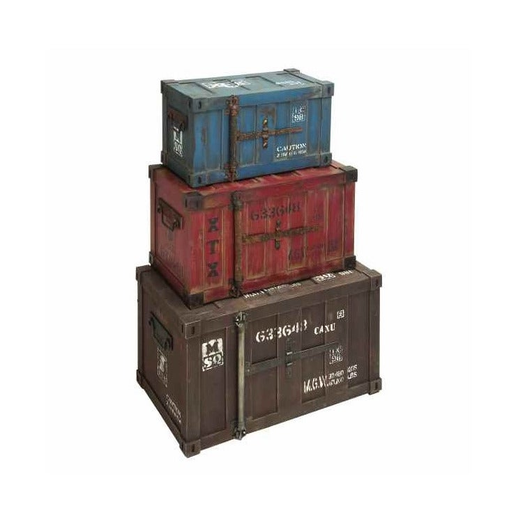 Wood Boxcar Trunks | Weekends Only Furniture and Mattress