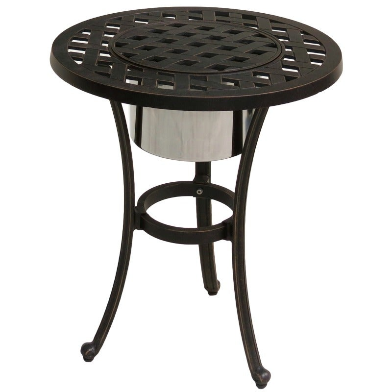 Castle Rock Ice Bucket End Table | Weekends Only Furniture and Mattress