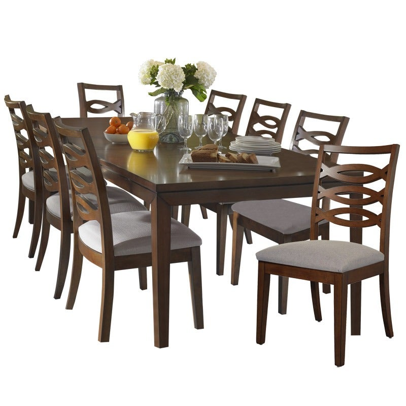 Somerton Claire 9 Piece Dining Table Set | Weekends Only Furniture and Mattress