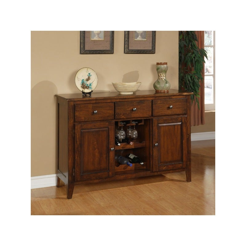 Holland House Emily Dining Server with Wine Storage