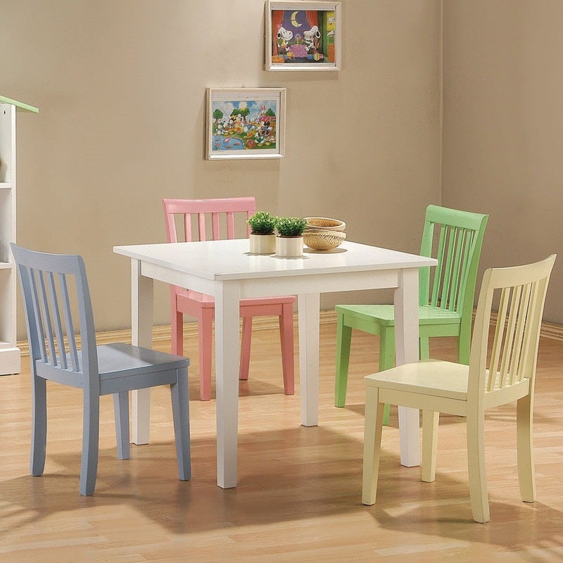 Kinzie Kids 5 Piece Table Set | Weekends Only Furniture and Mattress