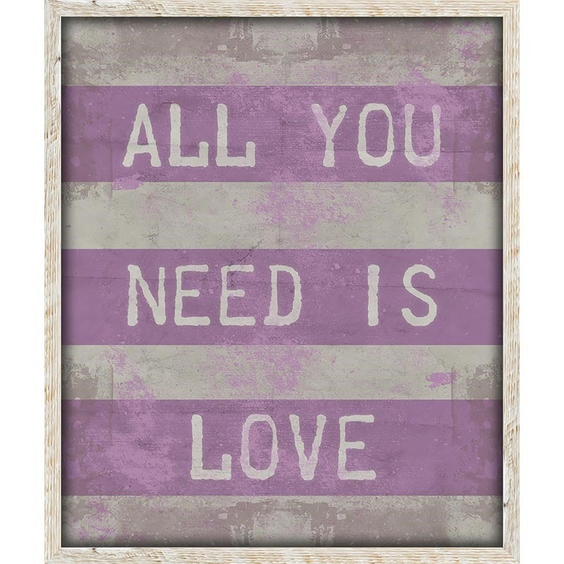 All You Need Is Love Art | Weekends Only Furniture and Mattress