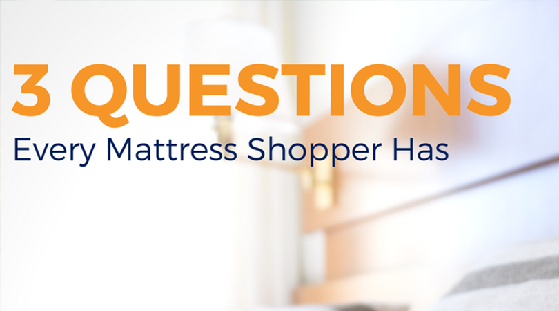 3 Questions Every Mattress Shopper Has | Weekends Only Furniture and Mattress