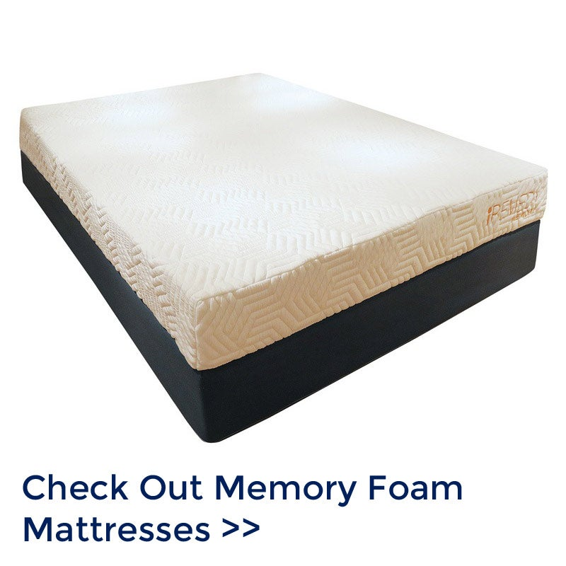 Memory Foam Mattresses | Weekends Only Furniture and Mattress