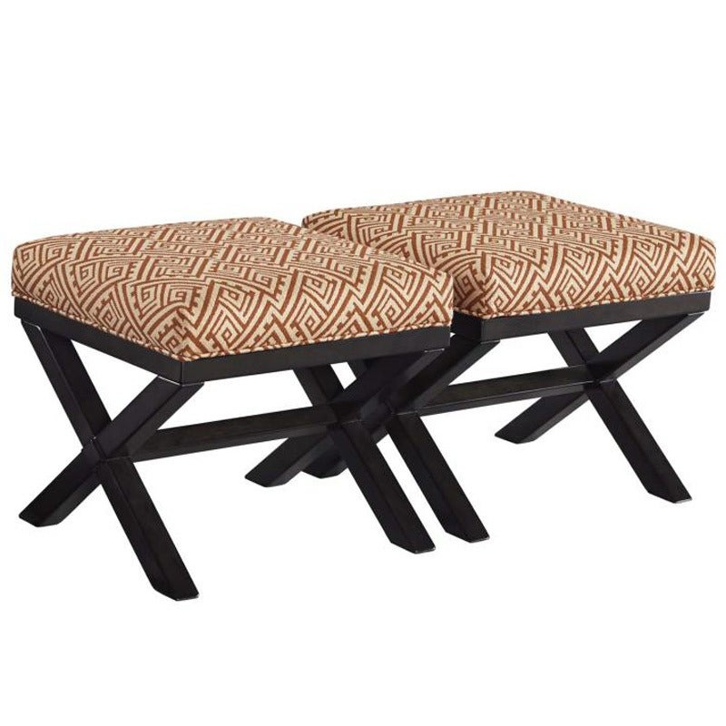 Leoloa Set of 2 Accent Ottomans   Weekends Only Furniture and Mattress