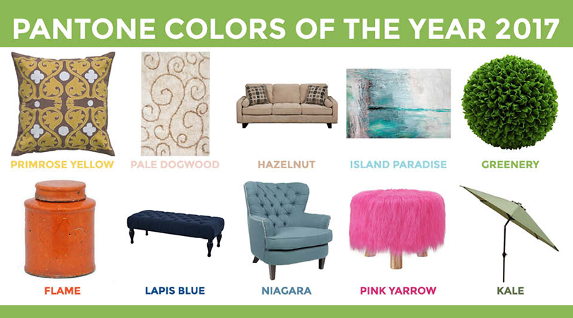 Spring into PANTONE's Colors of 2017 | Weekends Only Furniture and Mattress