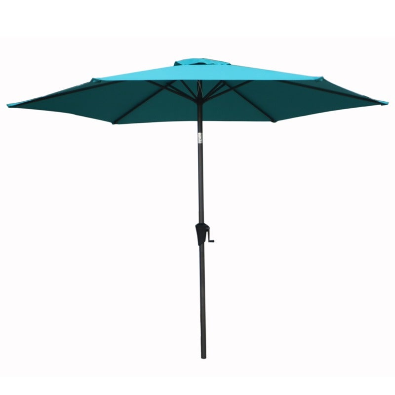 8' Turquoise Market Umbrella | Weekends Only Furniture and Mattress