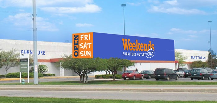 Weekends Only Digital Rendering of Indianapolis Store