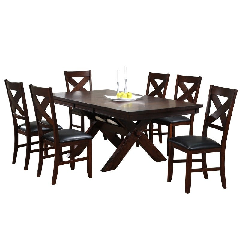 X Factor 7 Piece Dining Set