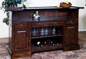 Weekends Only Bar and Wine Storage