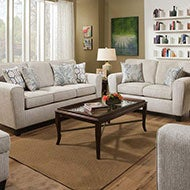 Beige Sofas and Loveseats