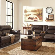 Brown Sofas and Loveseats