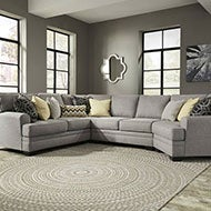 Gray Sofas and Loveseats