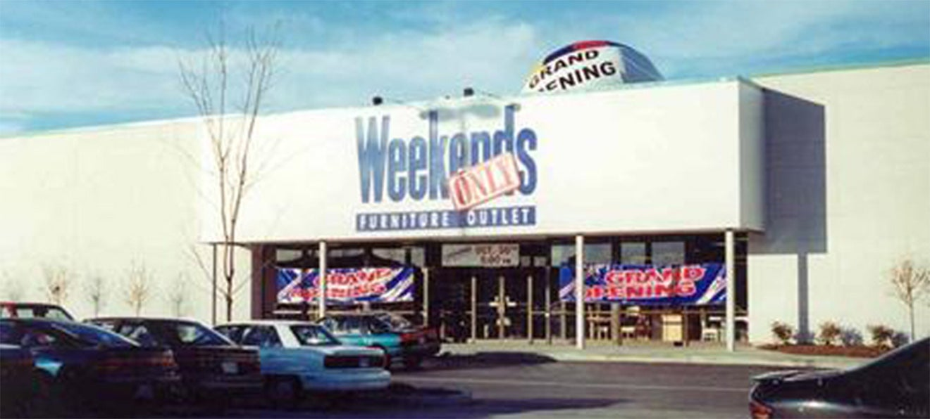 1997 Grand opening Weekends Only