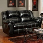 Black Sofas and Loveseats